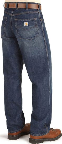 This I like very much--Carhartt relaxed fit boot cut jeans