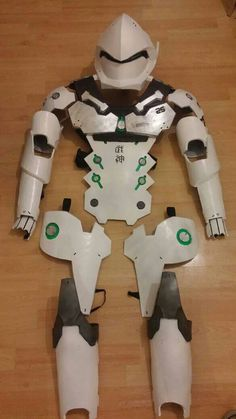 Available to order at: https://www.etsy.com/uk/listing/467128874/genji-cosplay-full-armour?ref=market  Take a look at my shop and feel free to message me with any queries. I also do comissions.