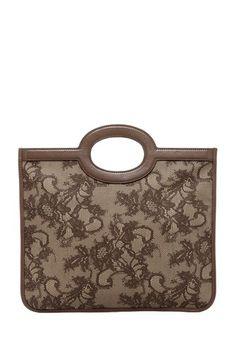 Valentino Small Leather Lace Handbag by Valentino, Missoni & More on @HauteLook