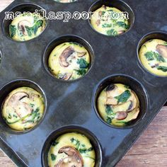 Completely gluten-free and low-carb is this healthy and delicious Spinach Quiche Cups that everyone will enjoy. #spinach #quiche #cups #gluten #free