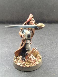 Commissar with plasma pistol