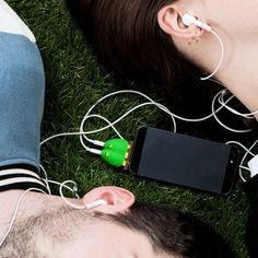 Lovebirds #Headphone Splitter