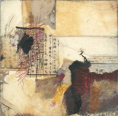 Louise Forbush - Collage on panel