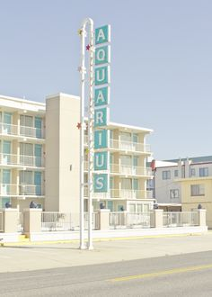 Aquarius Motel, from Wildwood Matthew Coleman