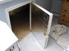 Uninsulated Crawl Space Door ~ Solution - A Concord Carpenter | A Concord Carpenter