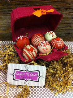 Valentines Cake Balls