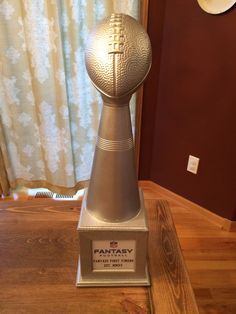 How to Make a Fantasy Football League Trophy