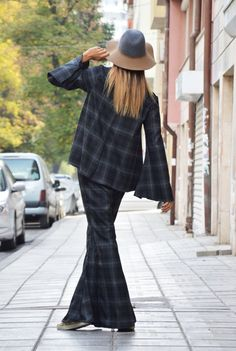 Shepherd's Plaid Wool Cotton Shirt and Pants / by SSDfashion