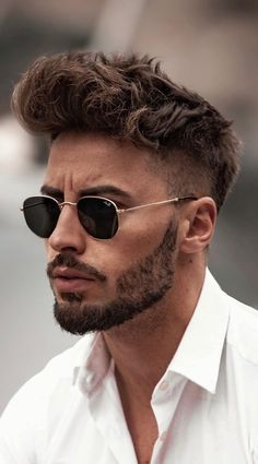 guy hairstyles popular mens haircuts new haircut for men best hair style latest hair style hairstyle - All For Bob Hair Trending Mens Hairstyles With Beard, Cool Hairstyles For Men, Undercut Hairstyles, Modern Hairstyles, Trending Hairstyles, Fashion Hairstyles, Winter Hairstyles, Pretty Hairstyles, Beard Styles For Men