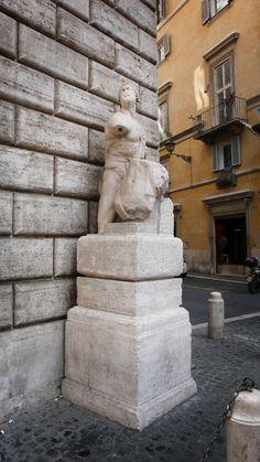 Pasquino, Rome, Italy
