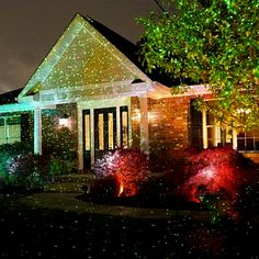 Outdoor Laser Holiday Lights Brand new ip66 outdoor waterproof led laser light christmas white dazzling star laser shower light projects thousands of laser lights efizzle workwithnaturefo