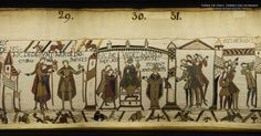 Bayeux Tapestry 29. Here they gave the king's crown to Harold