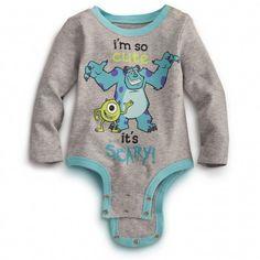 So Cute MONSTERS INC. Disney Cuddly Bodysuit.. lalaLOVE it <3