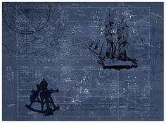 Star Map Mural (P112602-8) - Mr Perswall Wallpapers - n astronomer's delight -