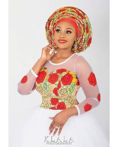Beautiful collection of the best and most stylish ankara head wrap styles for women. These ankara scarfs are classic and trendy Modern African Print Dresses, African Dresses For Kids, African Print Fashion, African Fashion Dresses, Ankara Fashion, African Attire, African Wear, African Women, African Style