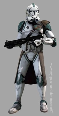 Star Wars - Clone Trooper Phase 2 armor (anyone know what division this trooper is with???)