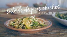 Salade de pois chiches à la marocaine