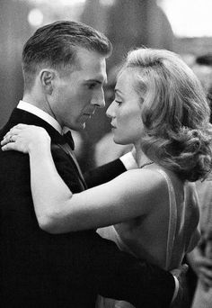 'It is in that moment of exquisite passion when your eyes meet intensely, knowing your both completely satisfied simultaneously in a rare bond destined for all eternity as immortal soul mates.' ~ ©Frank Borsellino. /   * Ralph Fiennes & Kristin Scott Thomas - 'The English Patient' (1996)