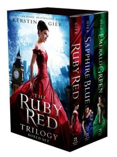 The Ruby Red Trilogy Boxed Set. This YA trilogy on time traveling is a must read.