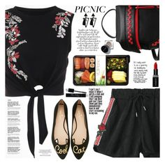 """Picnic in the Park"" by katjuncica ❤ liked on Polyvore featuring Kate Spade, Smashbox, Christian Dior and picnic"