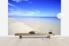 Empty Beach Maldives - Wall Mural & Photo Wallpaper - Photowall
