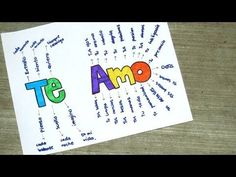TE AMO - PASO A PASO (LIBRETA PARA NOVIO)♥ - YouTube