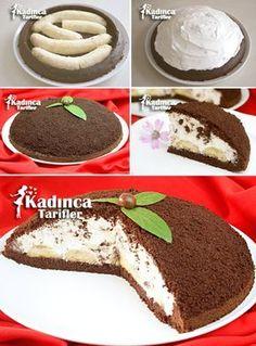 Mole Pie Recipe, How to Make, Dessert recipes Delicious Desserts, Yummy Food, Tasty, Pie Recipes, Dessert Recipes, Mousse Au Chocolat Torte, Turkish Recipes, Mole, No Cook Meals