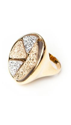 This is so beautiful! ;Multi Stone Ring by Marcia Moran