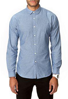 Slim Fit Micro-Dot Shirt   21 MEN - 2000051204 Forever Holiday Wish List Forever21.com #ForeverHoliday