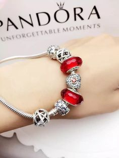 Pandora Jewelry OFF! Pandora Bracelet Charms, Sterling Silver Charm Bracelet, Pandora Jewelry, Charm Bracelets, Bracelet Designs, Jewelery, Charmed, Pure Products, Women's Fashion