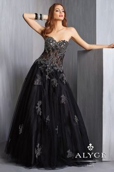 Alyce Prom Dress Style #6329 Full View