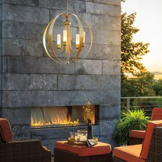 This beautiful space makes me think of Fall and a cozy fire as it's right around the corner. Hubbardton Forge's Pomme Outdoor pendant is both stylish and functional here. #lightinginspo #outdoorlighting #outdoorliving #coastalfinish #lightingdesign #designinspiration #lightingdesigners #madeinvermont #outdoorspace #lighting Westphalen photography Interior Lighting, Home Lighting, Modern Lighting, Outdoor Lighting, Lighting Design, Outdoor Decor, Fall Table Centerpieces, Outdoor Chandelier, Outdoor Light Fixtures