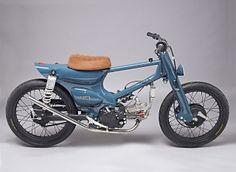 "Moto-Mucci: DAILY INSPIRATION: Super Motor Company - ""Salt Shaker"" Honda Super Cub"