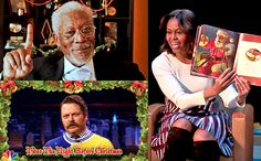 Christmastime always brings with it star-studded holiday specials or celebrity renditions of holiday cheer.But many celebrities have subtler ways of getting in on the Christmas spirit, too. Check out this wide-ranging list of stars — from Liam Neeson to First Lady Michelle Obama — read their favorite Christmas stories. Most chose classic bedtime tale,The Night Before Christmas,but there are sprinklings of others in there too. Listen and watch below.