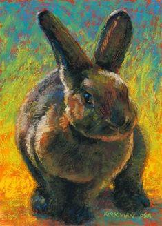 Cocoa Bun - Original Fine Art for Sale - © by Rita Kirkman