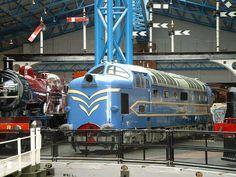 Deltic prototype. National Railway Museum, York