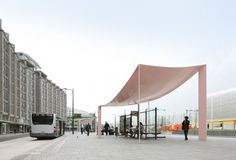 Maxwan /// abris d'autobus Canopies @ Rotterdam, Pays-Bas