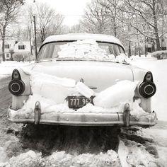 Vivian Maier Car Stuck in Snow Print Urban Photography, Abstract Photography, Social Photography, Minimalist Photography, Automotive Photography, Color Photography, Amazing Photography, Car Stuck In Snow, Vivian Maier Street Photographer