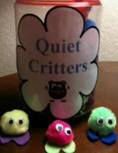 If they still have a quiet critter at the end of the day they get prizes