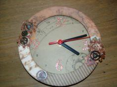 Clock by Jannette Winstone