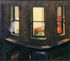 Night Windows by Edward Hopper