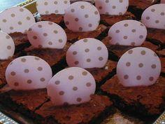 Brownies de cumple! Húmedos y chocolatosos!