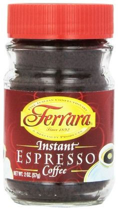 Ferrara Instant Espresso Coffee 2 Ounce Pack of 24 >>> Learn more by visiting the image link. Coffee Pack, Coffee Mix, Decaf Coffee, Blended Coffee, Espresso Coffee, Coffee Drinks, Best Instant Coffee, Coffee Brewing Methods, Coffee Substitute