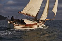 Yachts ~ Ben Harris & Co. Classic Sailing, Classic Yachts, Wooden Sailboat, Wooden Boats, Sailing Trips, Sailing Yachts, Charter Boat, Yacht Boat