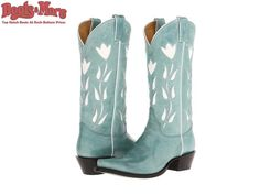 Ladies Justin Vintage Turquoise Goat VJL450 [VJL450] - $239.99 : Boots & More: Top Notch Boots at Rock Bottom Prices, We Price Match #boots #justin