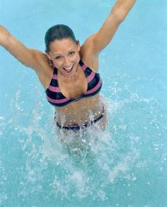 The Best Exercises for Water and Pool Workouts by Cindy Killip -- Looking to spice up your exercise routine with some water fun? Because water surrounds your body, it affects movement in every direction, providing a playful combination of buoyancy and resistance.