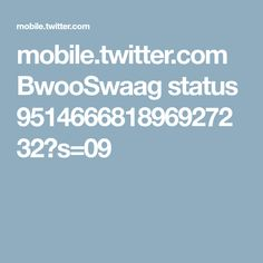mobile.twitter.com BwooSwaag status 951466681896927232?s=09