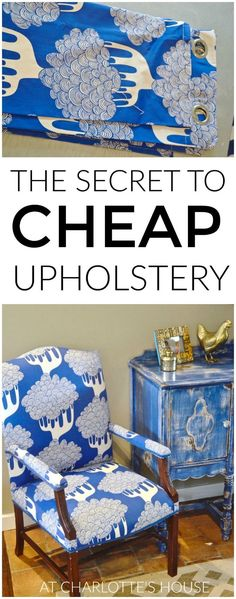 How to save money on upholstery using this simple supply.