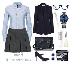 """smart is the new sexy"" by aubergine7 on Polyvore"