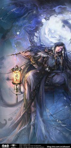 Asian fantasy art, digital illustrations and character studies. Fantasy Artwork, Fantasy Books, Fantasy Pictures, Fantasy Kunst, Fan Art, Fantasy Inspiration, Fantasy Girl, Chinese Art, Fantasy Characters